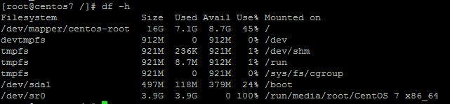 Linux系统怎么查看电脑的磁盘空间?