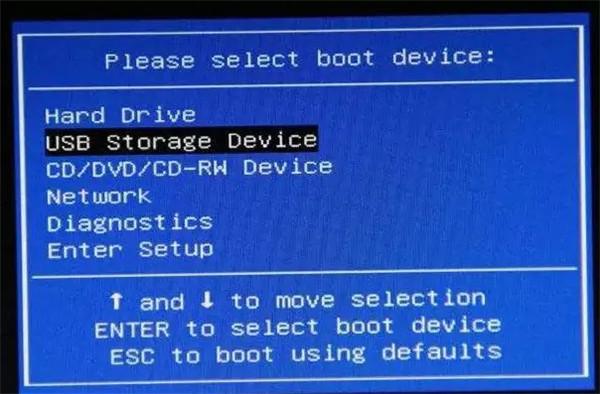 U盘装系统不能放超过4G镜像