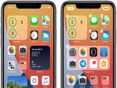 iOS14新手教程:「主屏幕」中添加小组件的方法